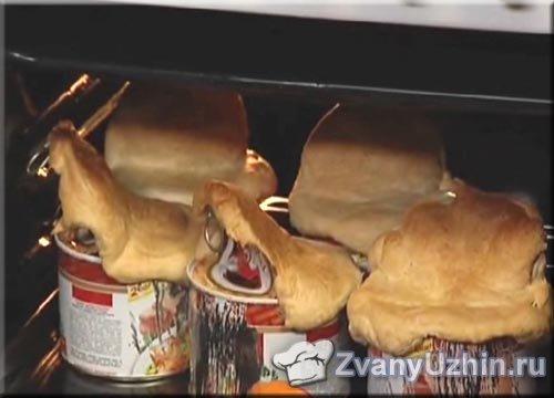 Ставим банки в духовку